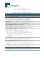 K-1 Visa Document Checklist contains a list of commonly requested documentation and information for K-1 petitions.